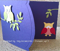 Stampin' Up! owl punch, two step bird punch, edgelits dies adorning accents