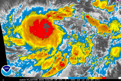Bud tormenta tropical podria convertirse en huracan