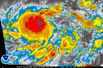 Bud tormenta tropical podria convertirse en huracan