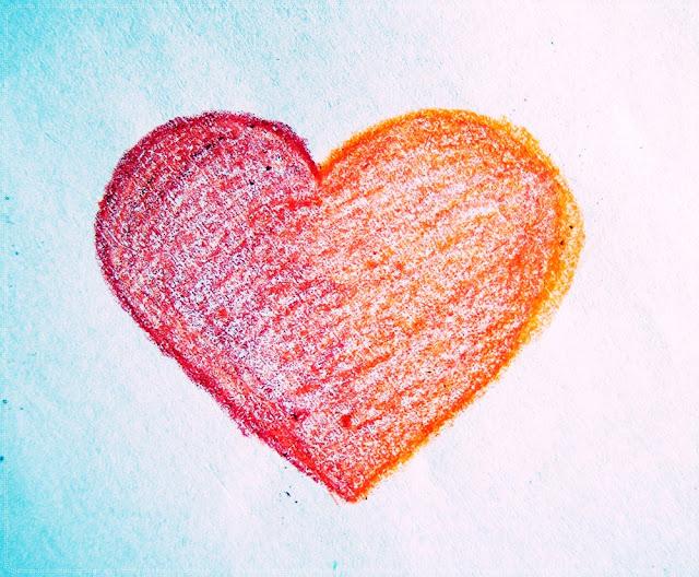 nacrtano srce