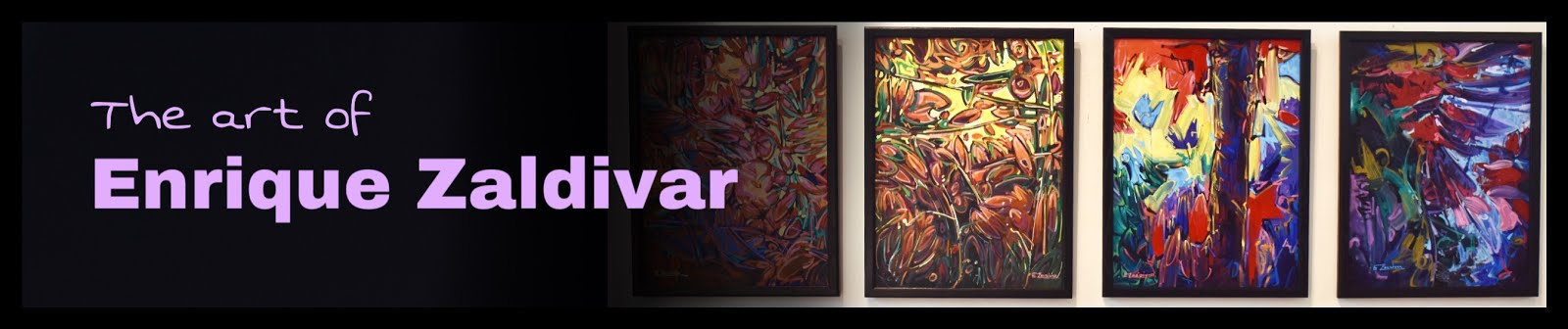 The art of Enrique Zaldivar