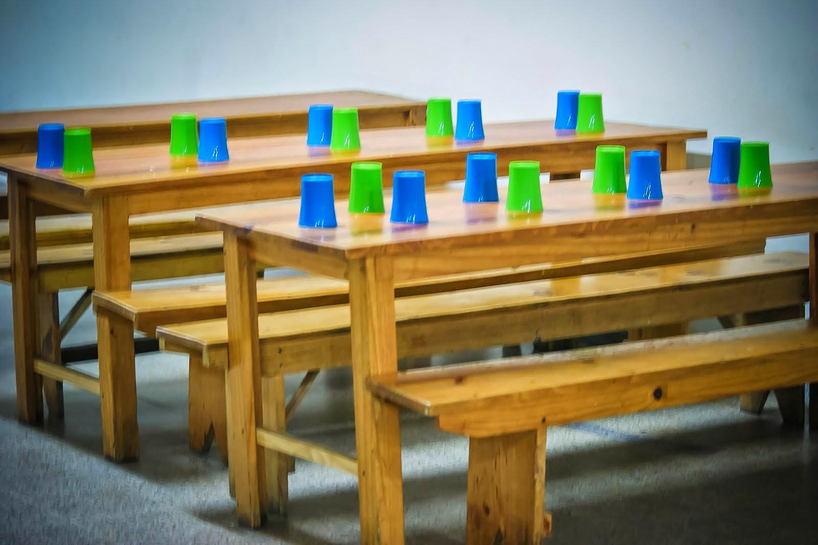 Mesas de chicos