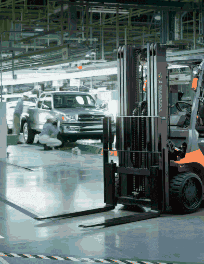 Next Generation Forklift The bar is raised. The industry is forever  changed. The revolutionary 7-Series forklifts feature the world's first