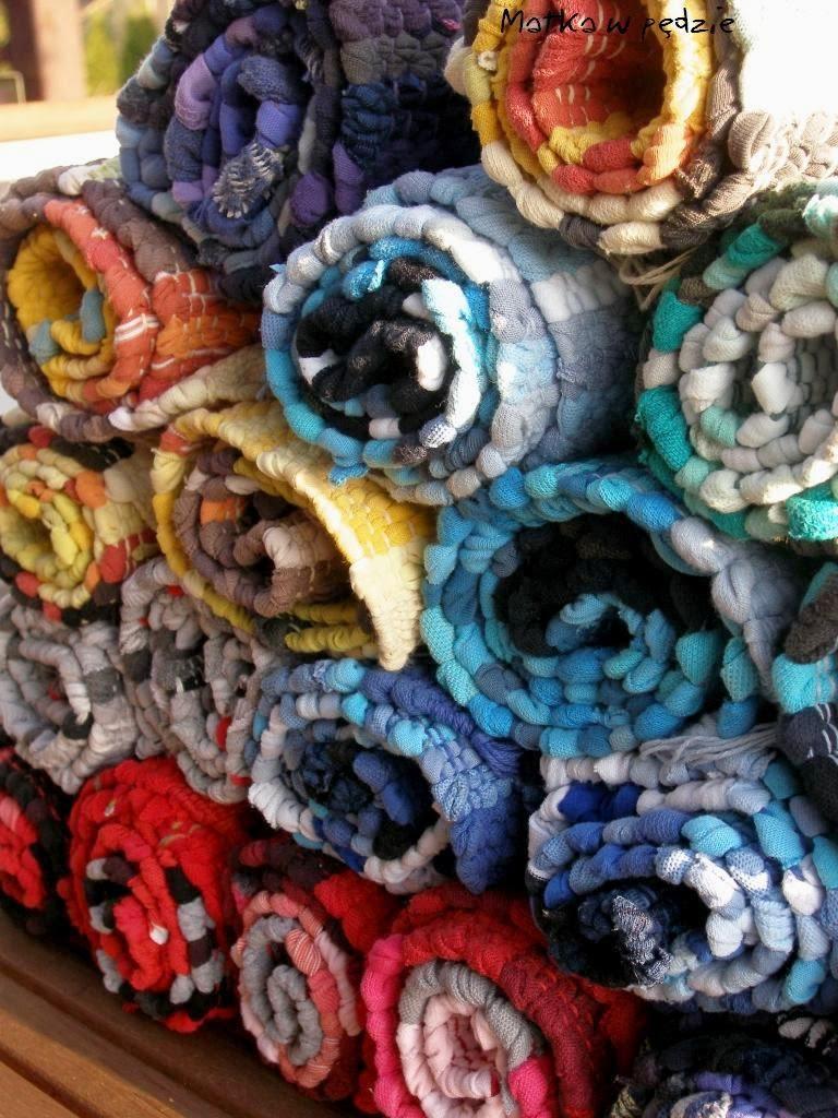 chodniczki, szmaciaki, dywaniki rękodzieło