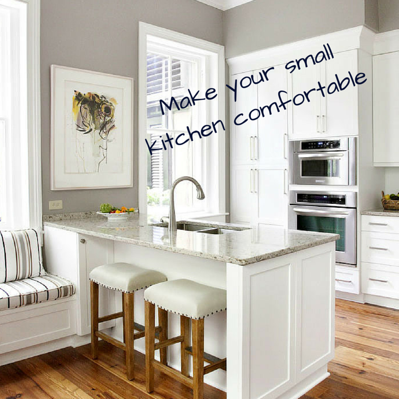 How to make your small kitchen comfortable