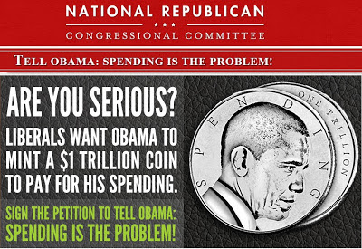 National Republican Congressional Committee: Tell Obama Spending is the problem