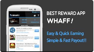 aplikasi android penghasil uang whaff