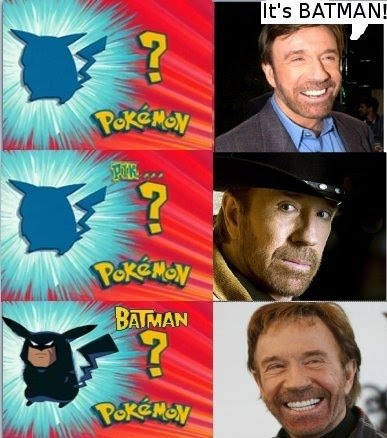 It's Batman! Chuck Norris' Super Power