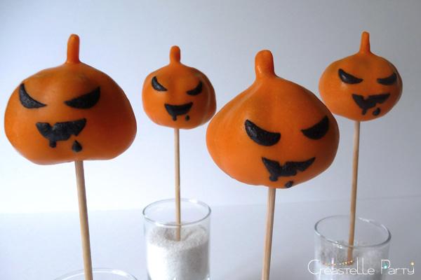cake pops citrouille / pumpkin