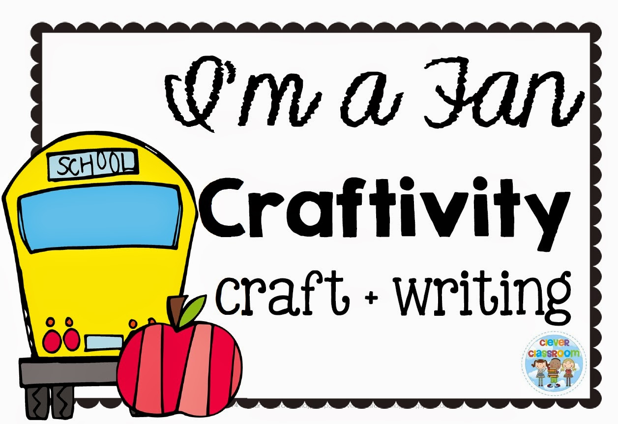 I'm a Fan Craftivity with FREE Printables