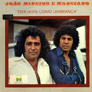 Jo�o Mineiro e Marciano - Vol.08 - Esta Noite Como Lembran�a