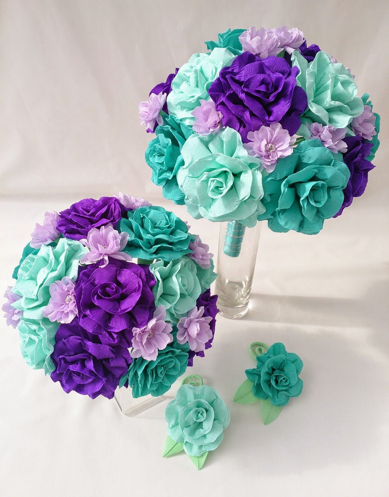 Crafty little beanut wedding flowers i have made for january 2015 if you would like to see more of my crepe paper flowers please head over to my facebook page the paper blooms izmirmasajfo