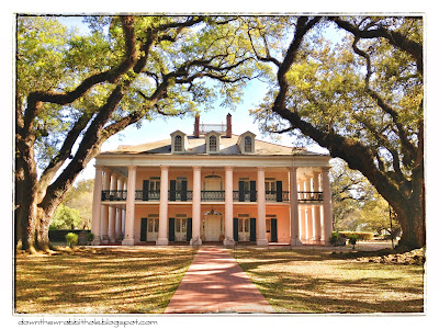 Oak Alley Plantation, New Orleans, Louisiana, slave plantations