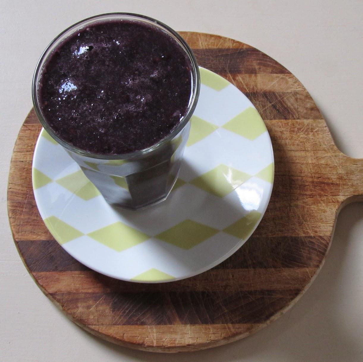 blackberry-watermelon smoothie
