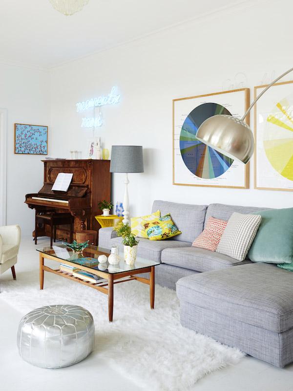 Como elegir el tama o adecuado de alfombra para el sal n acot o dec blog de decoraci n - Alfombras de madera para salon ...
