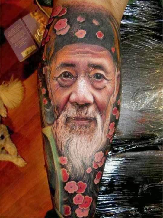 Chris Nieves is a brilliant portrait tattooist from Australia