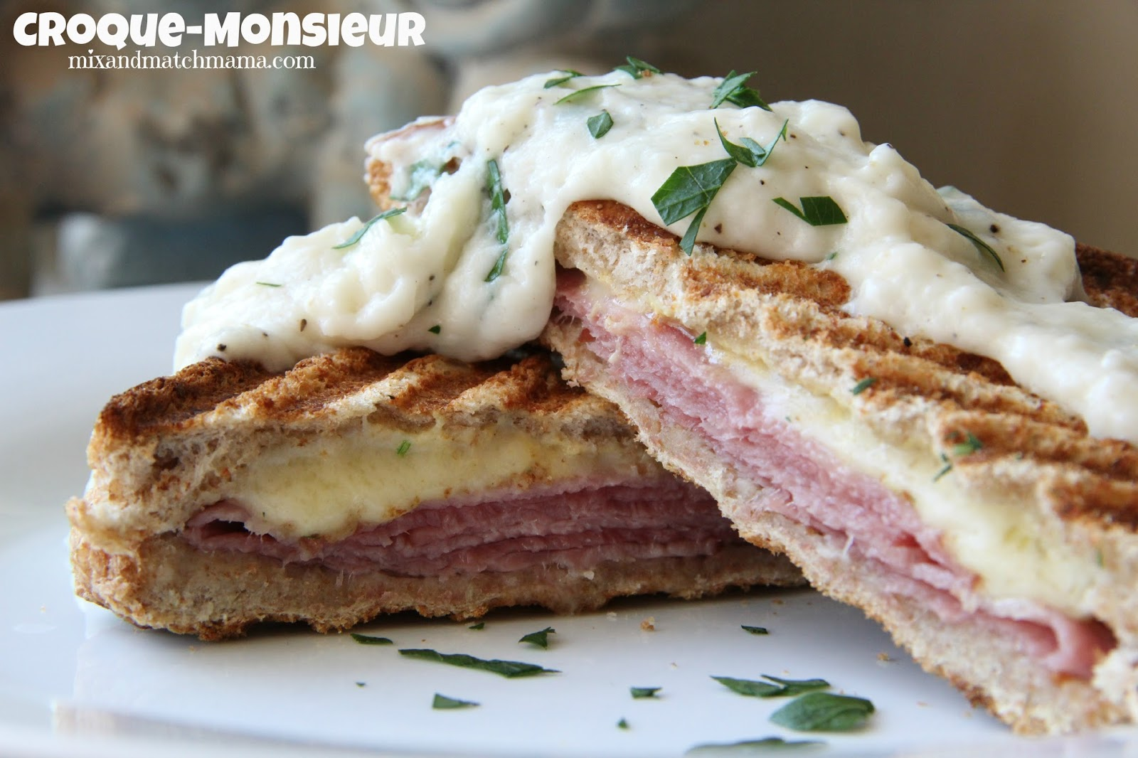 Mix and Match Mama: Dinner Tonight: Croque-Monsieur