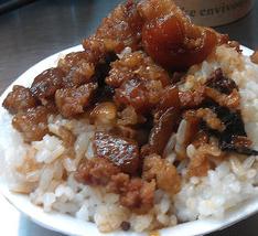 Le riz au porc braisé