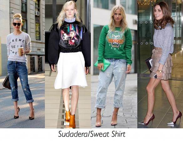 tendencia, moda, sudadera