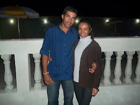 Diaconos Sergio e sua Noiva Vera Lucia.