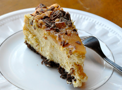 Dining Well: Toffee Crunch Caramel Cheesecake