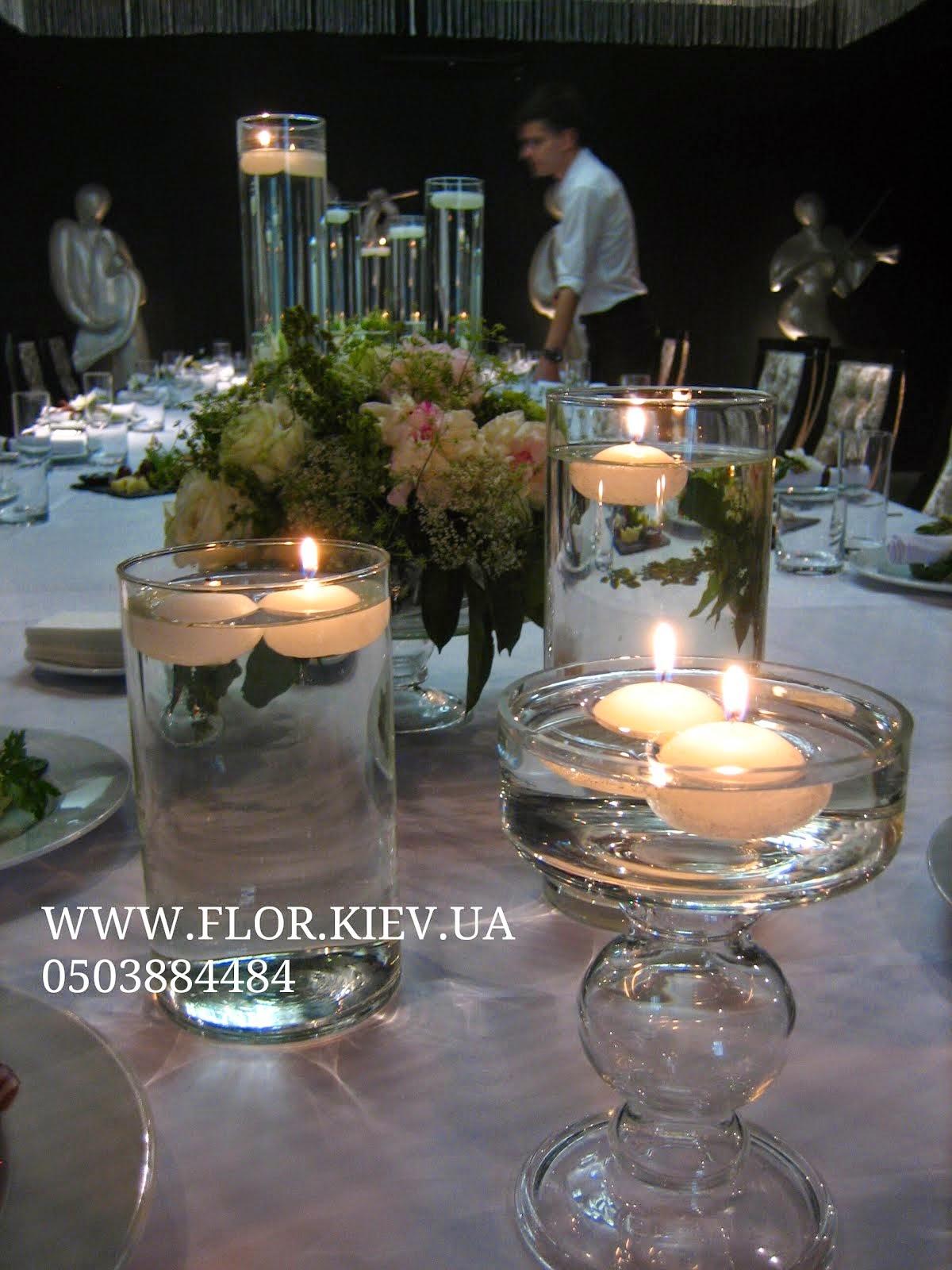 Оформление небольшой свадьбы в ORLY