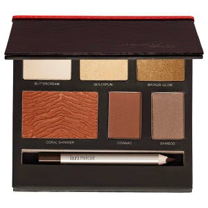 Laura Mercier Into The Wild Book Collection-Safari Chic Palette-Holiday Collection 2014