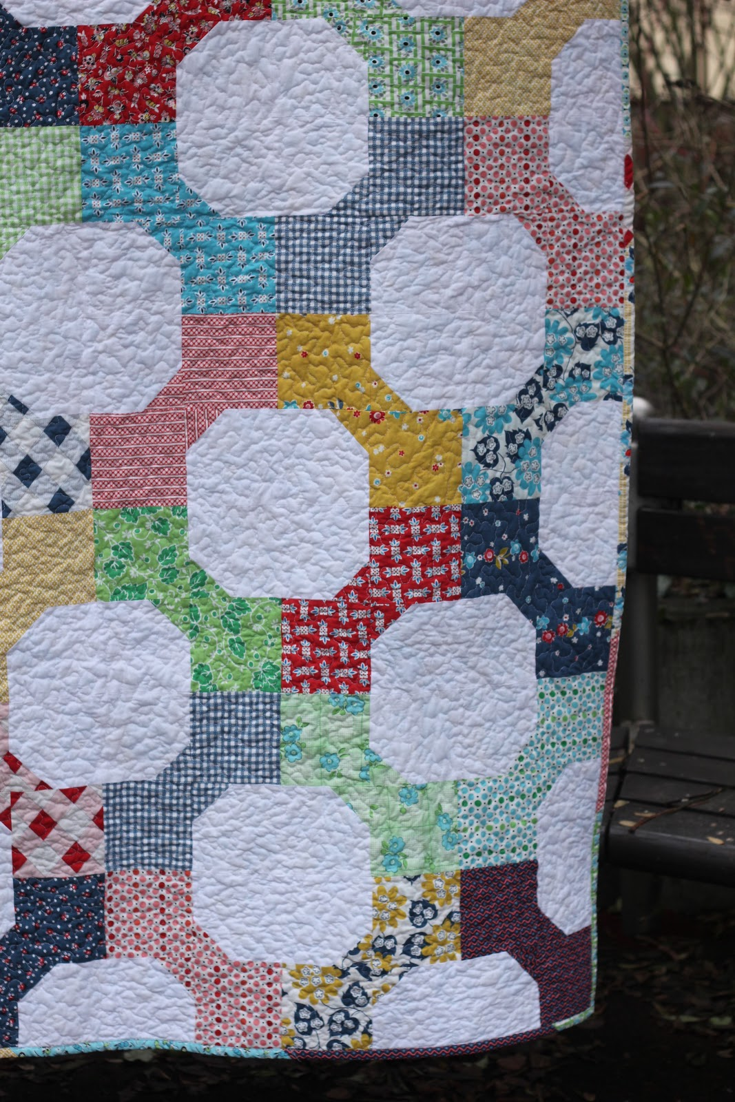 Crafting With Love Bow Tie Quilt