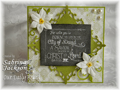 Stamps - Our Daily Bread Designs For Unto You,  ODBD Custom Fancy Foliage Die