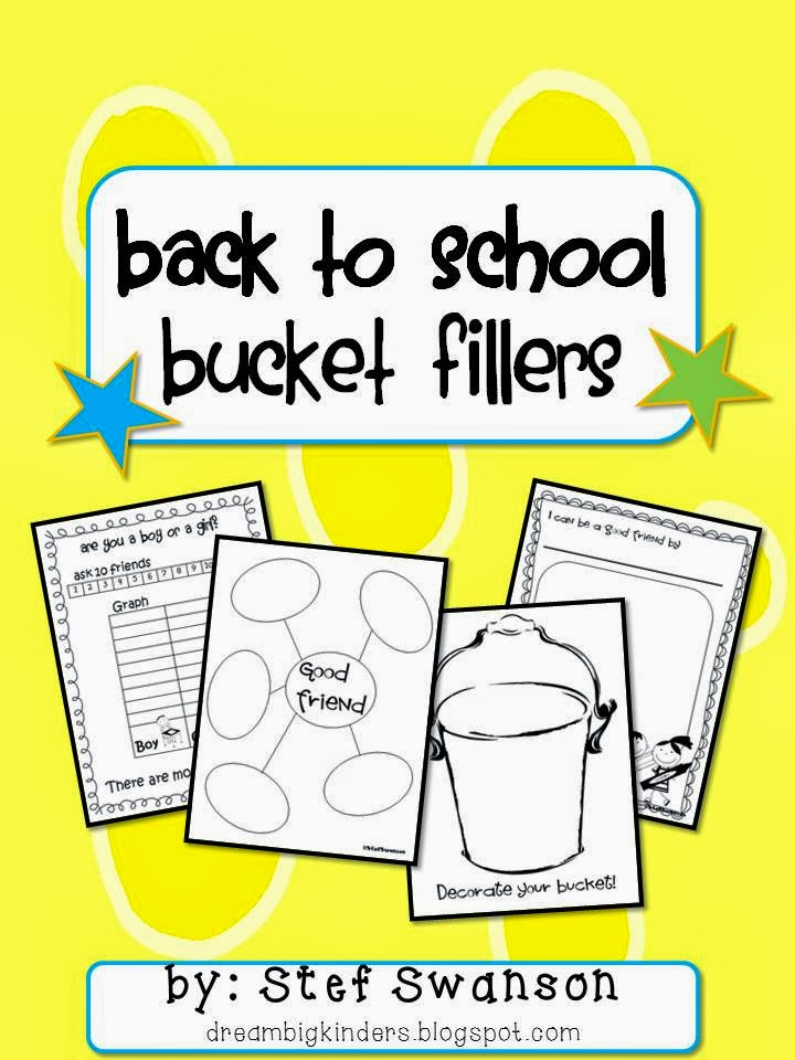 http://www.teacherspayteachers.com/Product/WritingReading-Comprehension-Back-to-School-Bucket-Fillers-269912