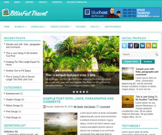 BlissfulTravel-Blogger-Template