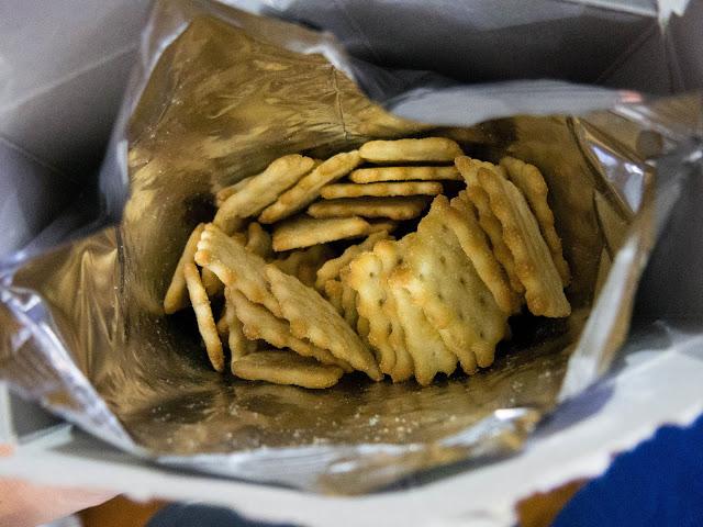 Shape of Ritz Chicken Biskit