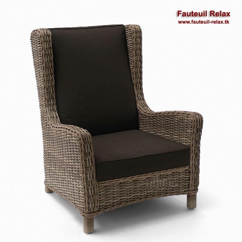 fauteuil bergere en resine tressee de