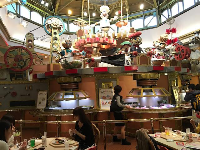 Sanrio Puroland food restaurant