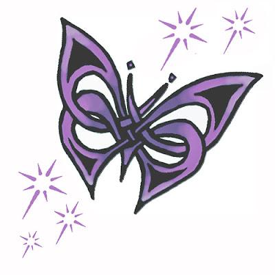 Tatouage Papillon 123RF  - tatouage papillon couleur
