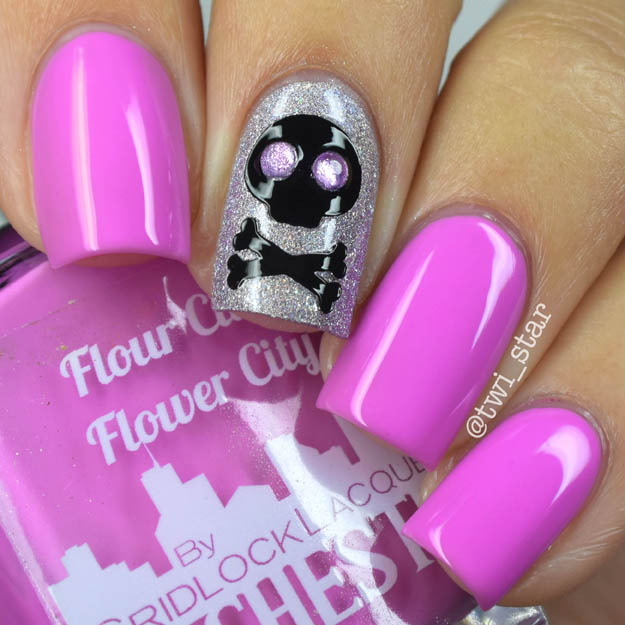 Gridlock Lacquer Rochester NY Summer 2015 swatches Flour City FLower City
