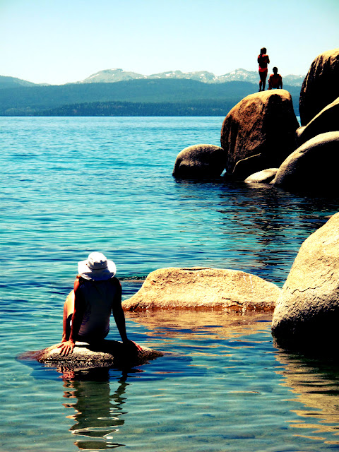 lake tahoe sand harbor nevada state park swimming