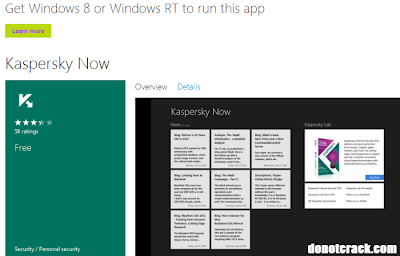 Kaspersky Now for Windows 8 FREE