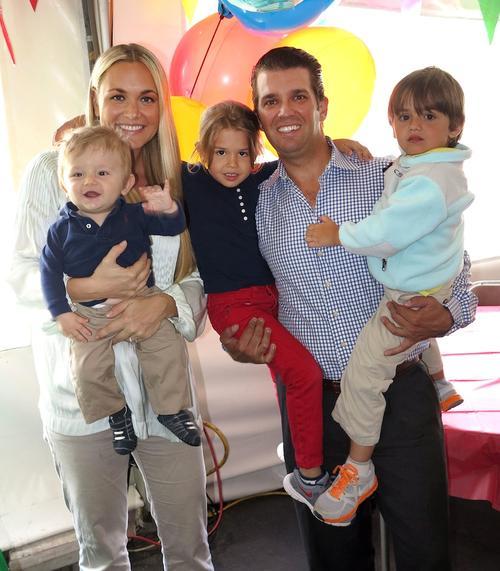 Trump Family: oktober 2012