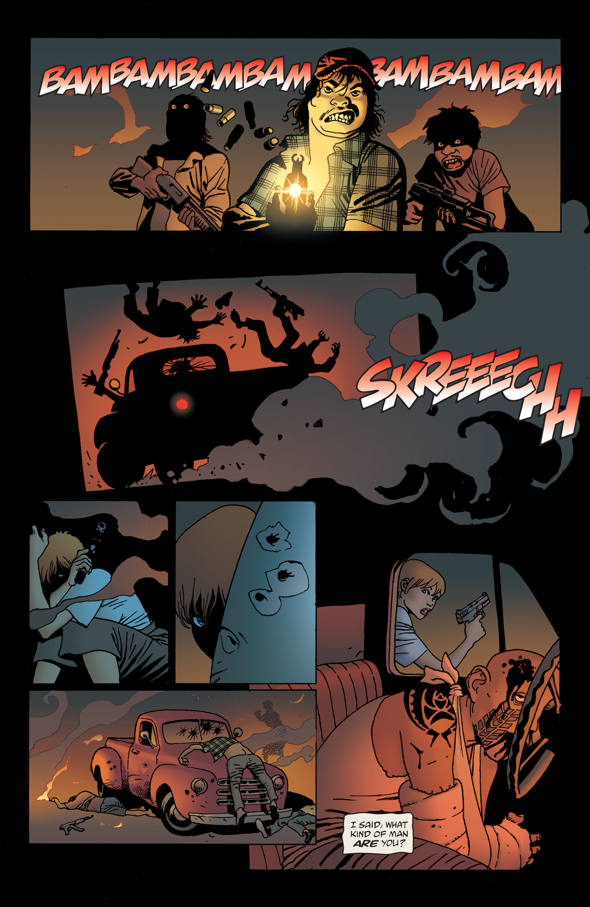 100 Bullets: Brother Lono Full Page 158
