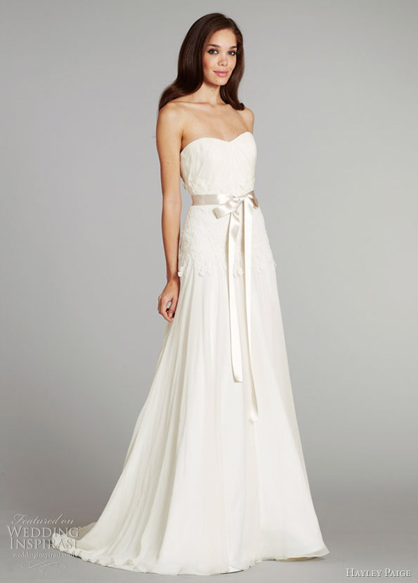 Honey buy hayley paige 2012 winter wedding dresses for Hayley paige wedding dress
