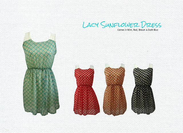 Sunflower Lacy Dress