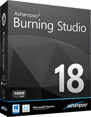 Ashampoo Burning Studio 18.0.8.1 poster box cover