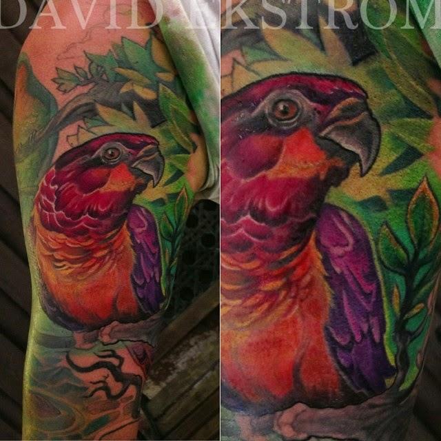 tattoos art by david ekstrom birds vikings zombies demons and zen garden tattoos and. Black Bedroom Furniture Sets. Home Design Ideas