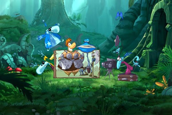 Screen Shot Of Rayman Origins (2012) Full PC Game Free Download At worldfree4u.com