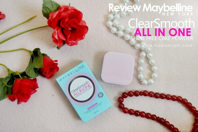 Review Maybelline ClearSmooth All in One Shine Free Cake Powder