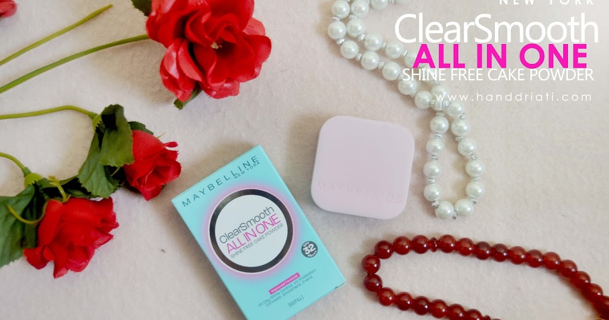 Review Bedak Padat Maybelline ClearSmooth All In One Shine