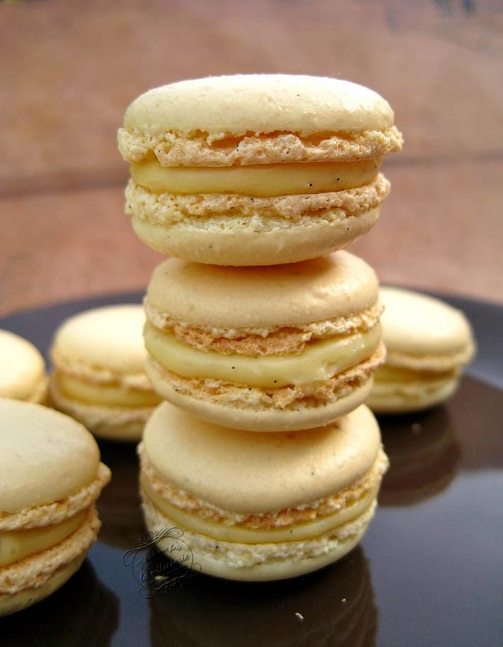 Macarons à la vanille : Il était une fois la pâtisserie