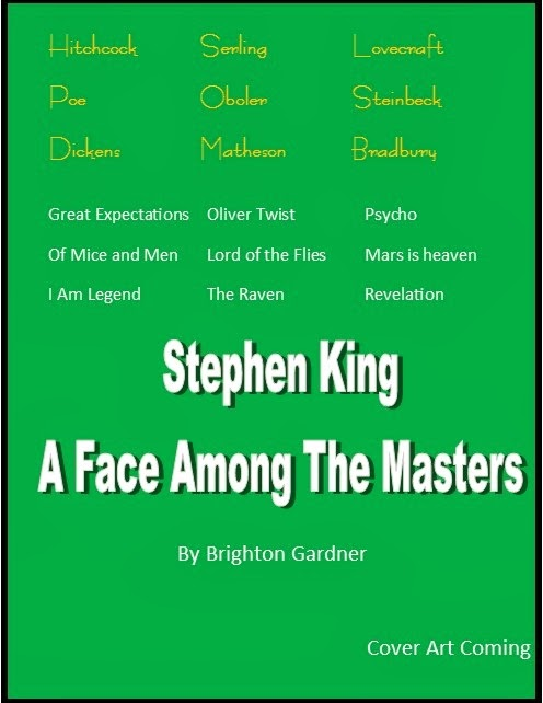 STEPHEN KING A Face Among The Masters