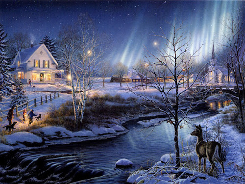 gambar-gambar musim dingin indah